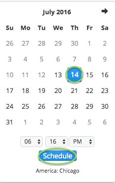 buffer scheduling 4