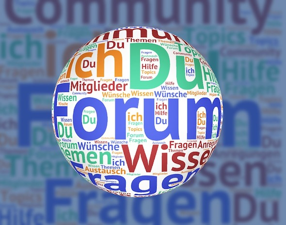 forum word cloud
