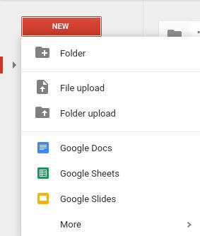 google drive calendar step 2