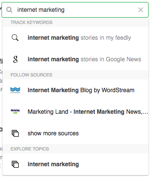 search feedly image