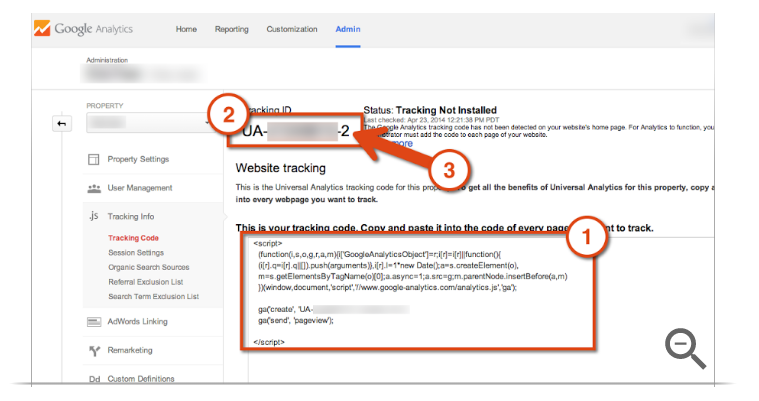 what a google analytics tracking ID is